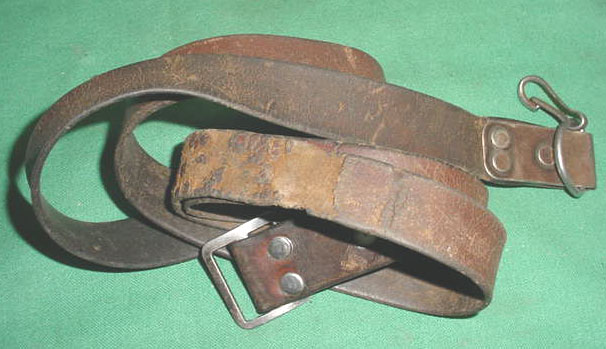 Leather Sling, Poor Condition, Yugo SKS?