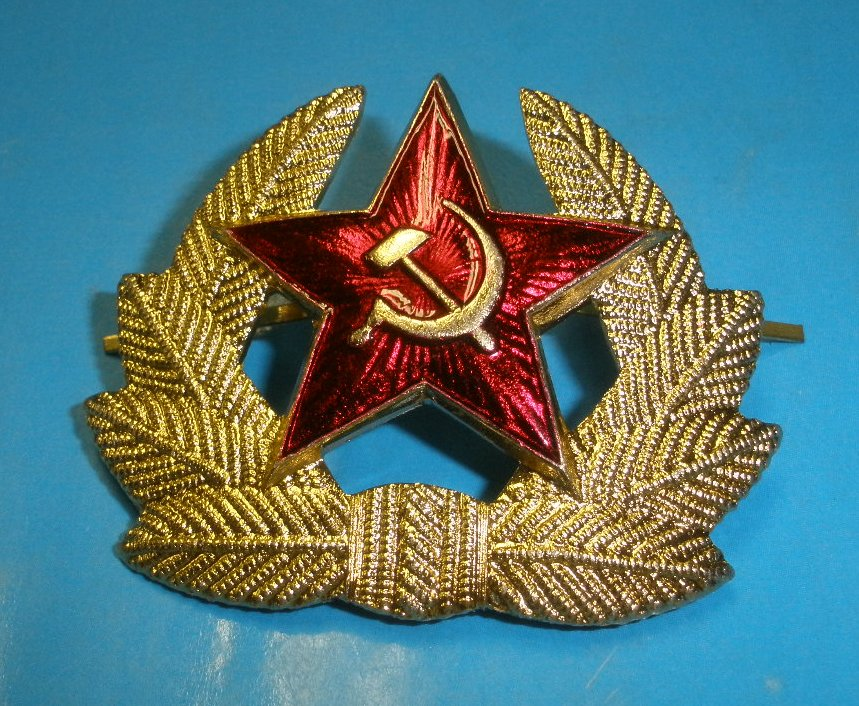 Hat Badge Russian