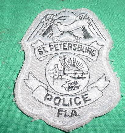 Police Patch 2, St Petersburg, FL