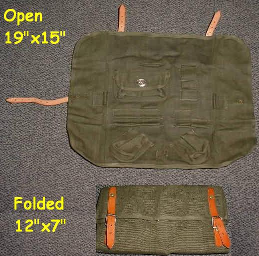 Swiss Tool Roll, Heavy Canvas, EXCELLENT
