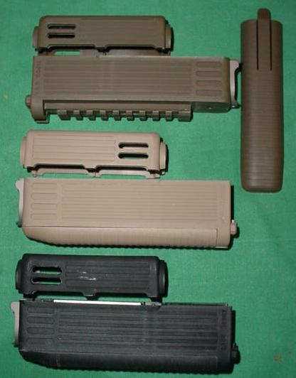 AK Intrafuse Front Handguard Set TAPCO DARK EARTH