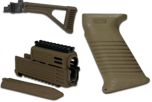 Intrafuse AK Folding Stock Rifle System (OLIVE DRAB)