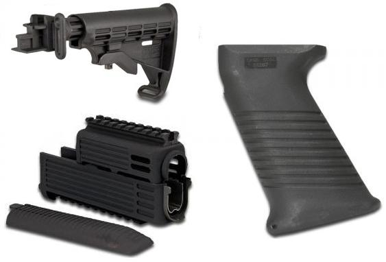 Intrafuse AK T6 Stock Rifle System (BLACK)