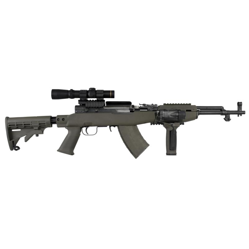 SKS T6 Stock Set, with Rail, Black Intrafuse w/ 1 Magazine