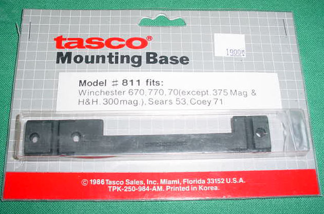 Winchester 670, 770, Sears 53, Cooey 71 Mounting Base by TASCO