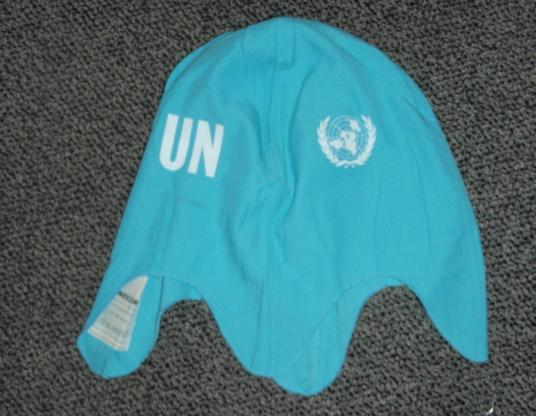 UNITED NATIONS Helmet Cover / Target