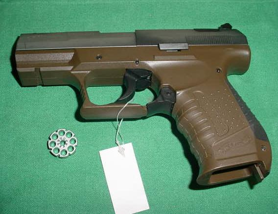 Walther CP99 CO2 Pellet Gun, MISSING MAGAZINE
