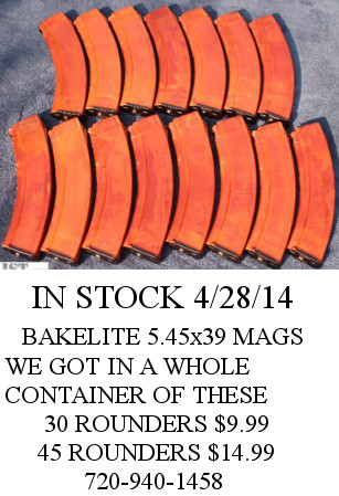 Magazine WASR-10 Single Stack 10 Round, Romanian - Click Image to  Close