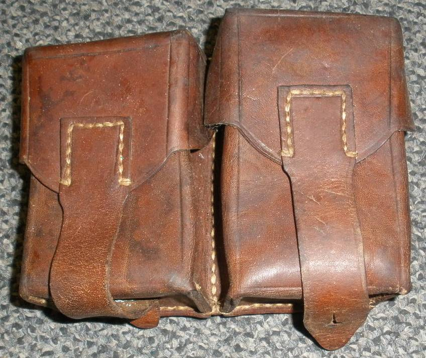 Yugo M48 Leather Pouches QTY 2