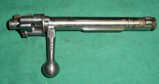 Bolt, Complete, Straight Handle, Yugo M48 Mauser