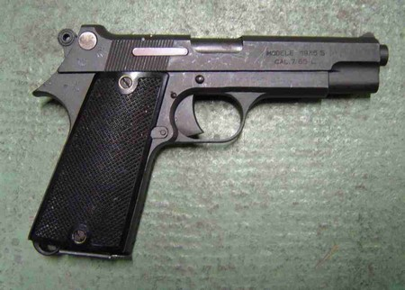 FRENCH 1935-S 7.65mm Pistol