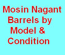 Barrels by Model & Condition