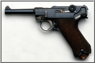 German P-08 Luger Pistols